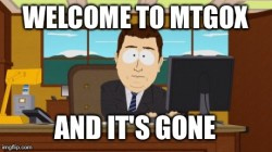 Добро пожаловать в MtGox…Правда, тут никого нет