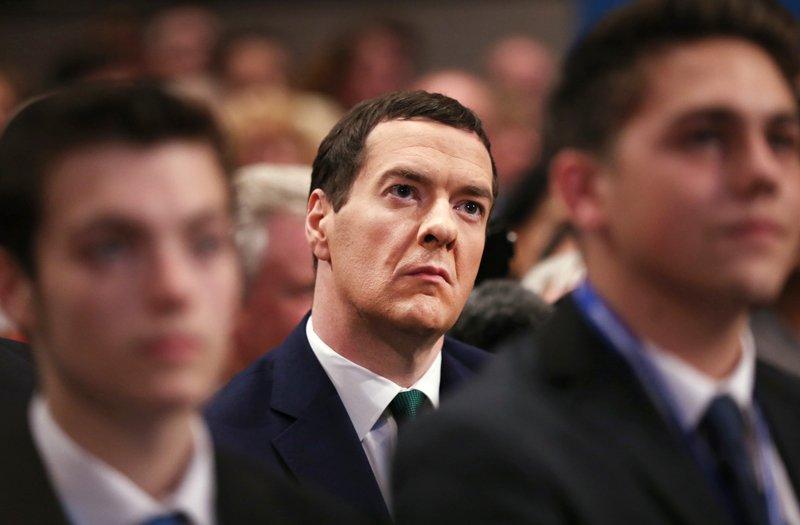 Джордж Осборн, миниср финансов Великобритании