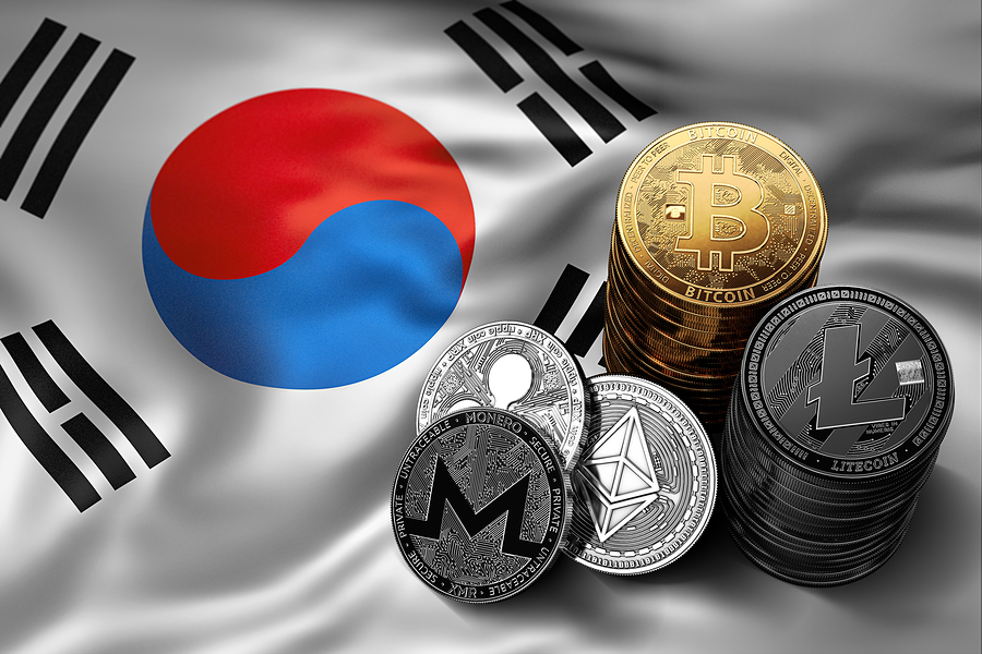 BitcoinSouthKoreanFlag