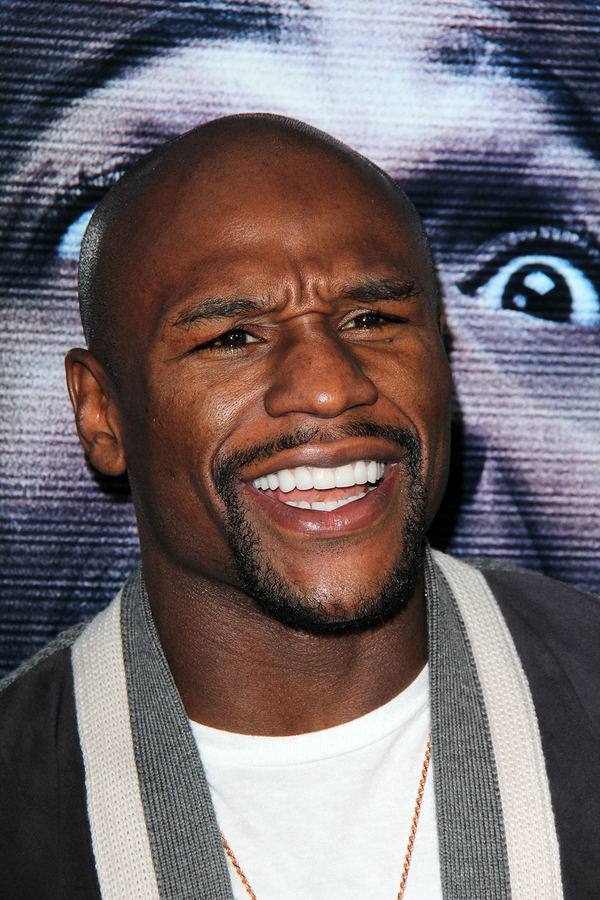 "LOS ANGELES - APR 16: Floyd Mayweather Jr at the ""A Haunted Hou"