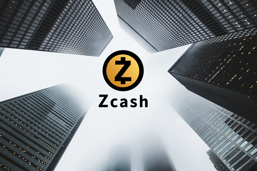 """Concept of """"Zcash"""" a Cryptocurrency secured chain Digital money"""