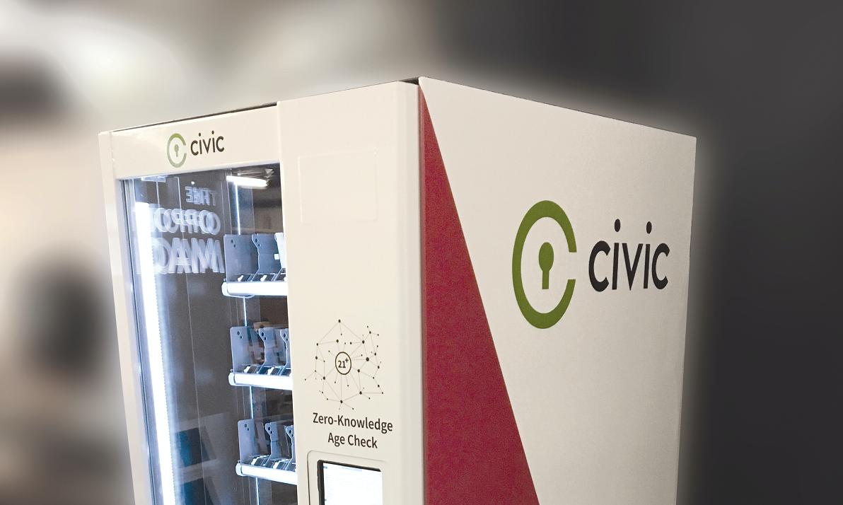 Стартап Civic представил 1-ый  вендинговый криптоавтомат для продажи пива