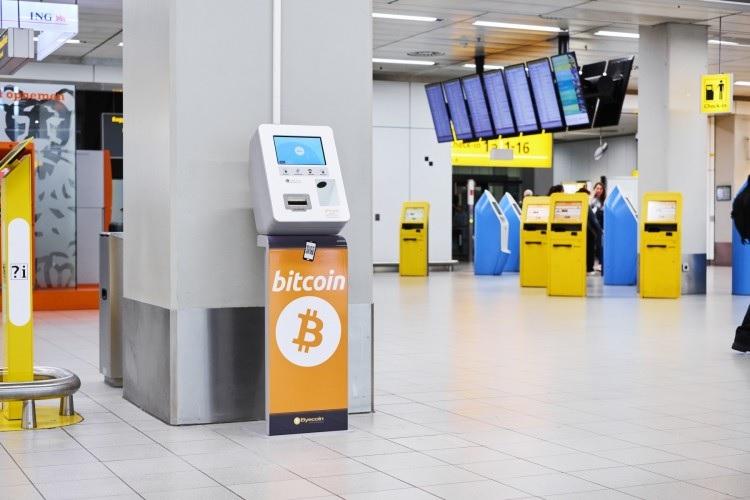Курс биткоина на сегодня 21.06.2018  В аэропорту Амстердама теперь есть  биткоин-банкомат b981d1ee79d