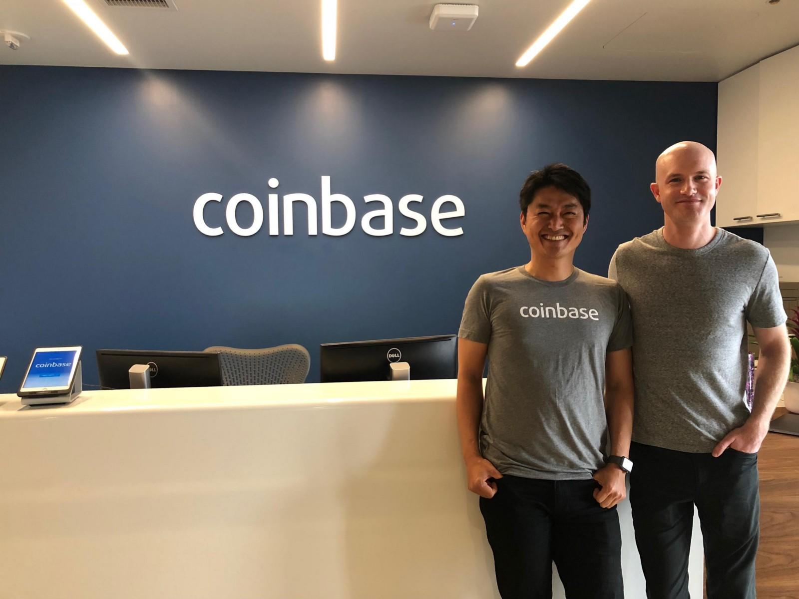 Coinbase Япония экспансия