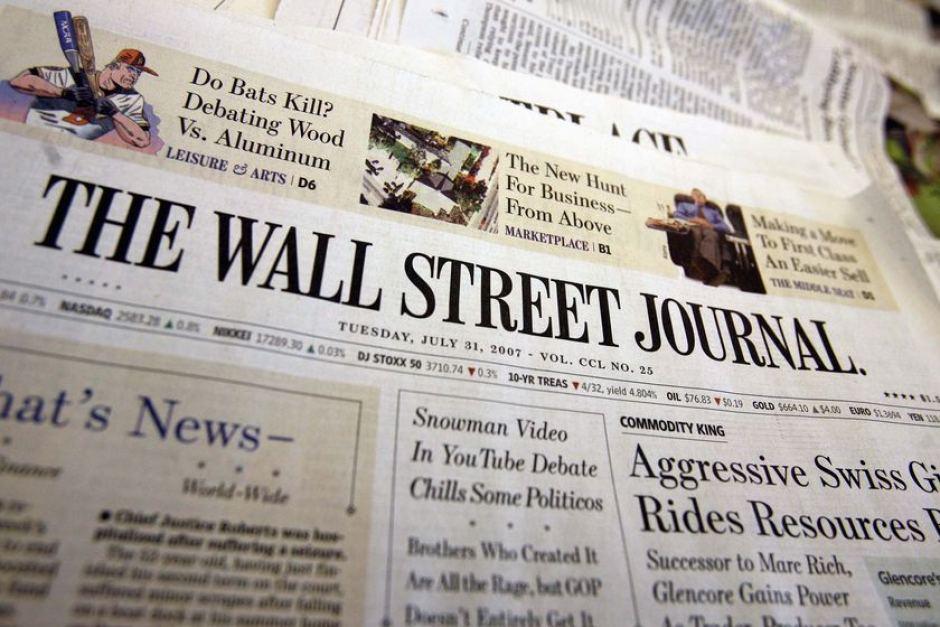 The Wall Street Journal рейтинг проекты блокчейна