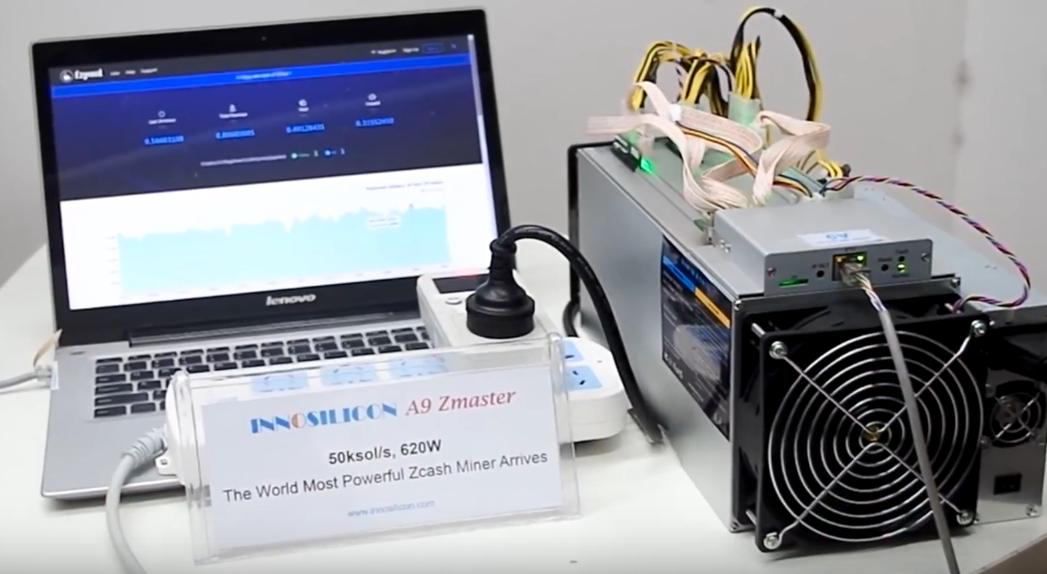 Innosilicon ASIC-майнер A9 ZMaster для Equihash Zcash (ZEC)