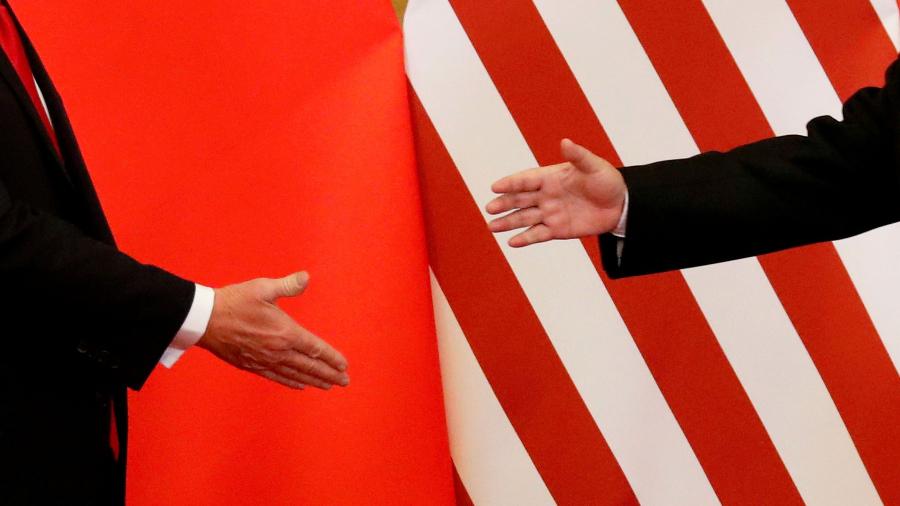 курс криптовалют торговая война США и Китая