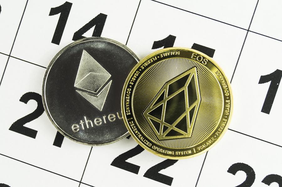 Сравнение криптовалют эфириум и EOS