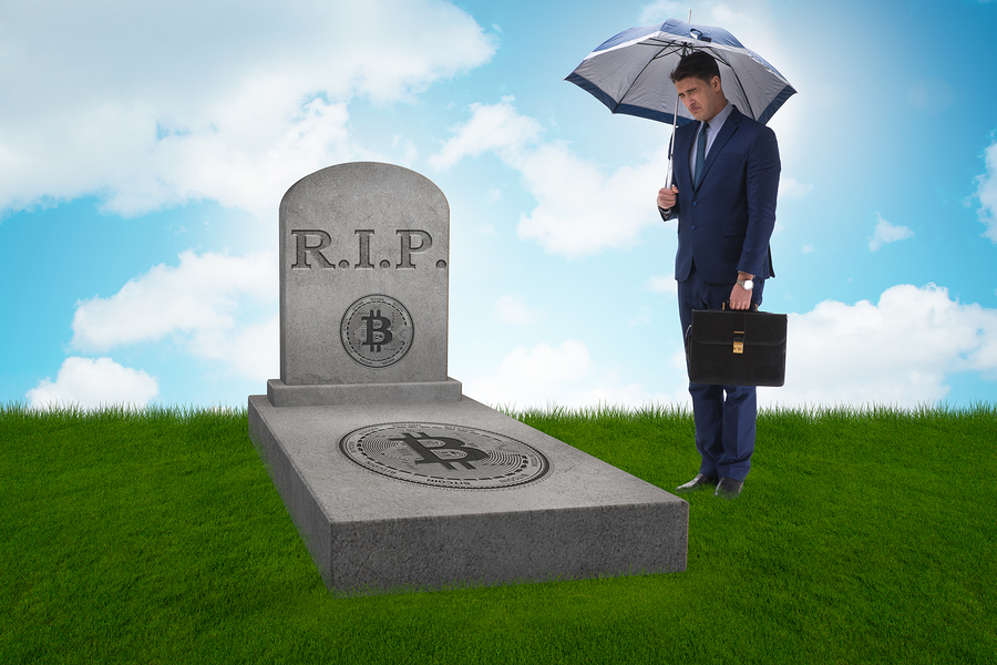 Шок: Биткоин только что «умер» в 309-й раз