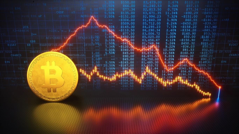 Аналитики Bloomberg зафиксировали сигналы к резкому снижению биткоина