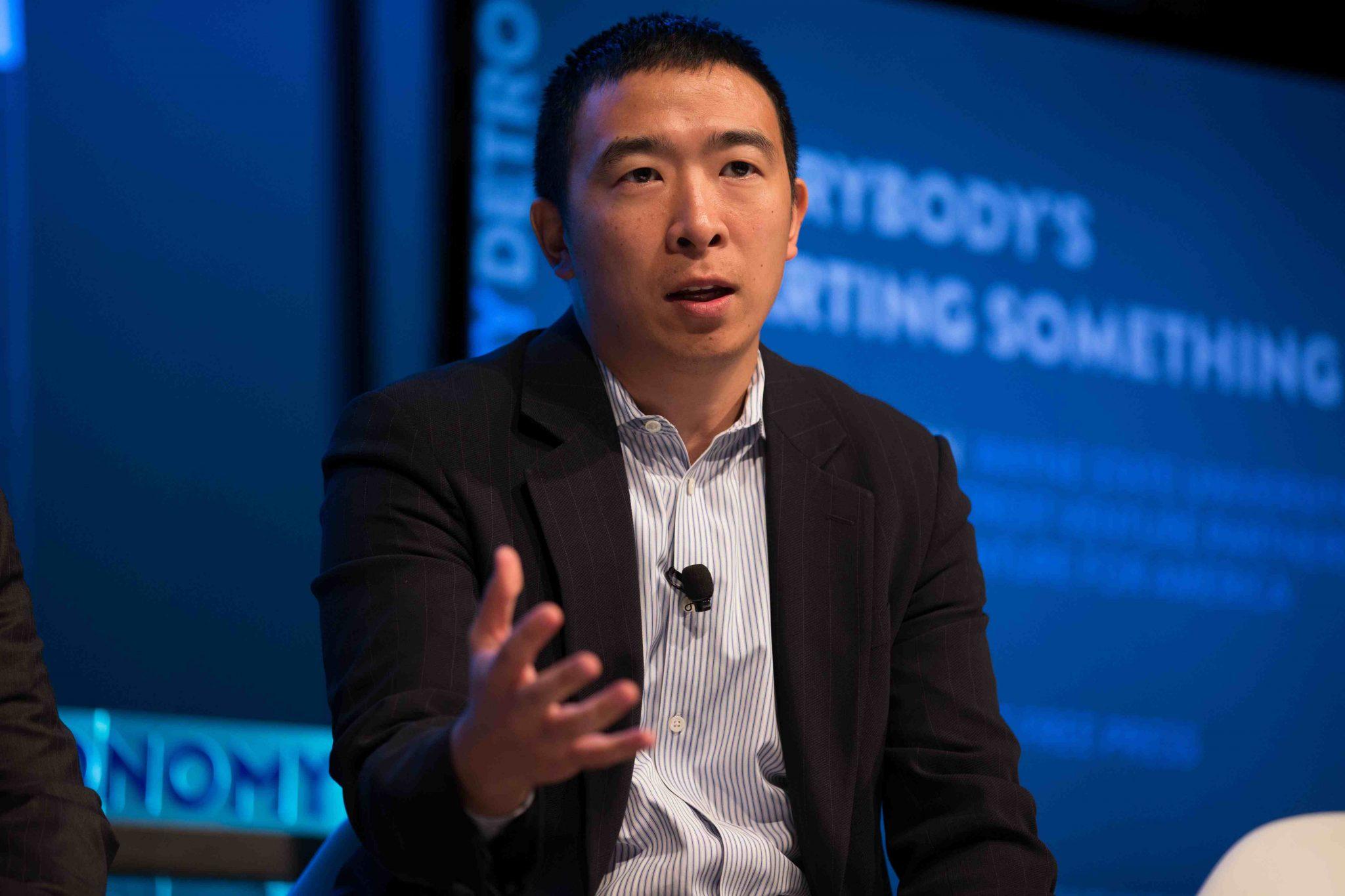 andrew yang - Кандидат в президенты США выступил за чёткое регулирование отношений в криптосфере
