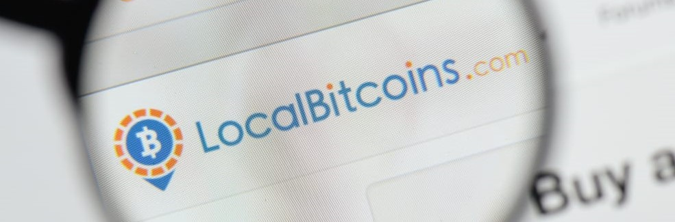 milan italy august 20 2018 localbitcoins website homepage. localbitcoins logo visible. image - Доход LocalBitcoins вырос на 10% несмотря на ужесточение правил идентификации пользователей