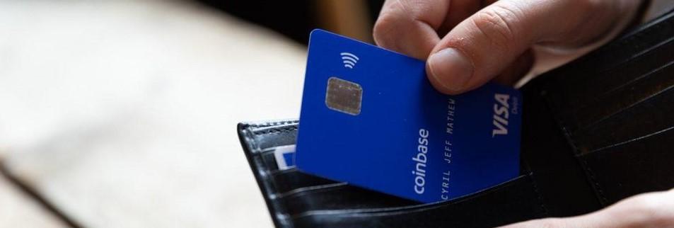 Биржа Coinbase анонсировала запуск своей криптовалютной карты Visa в США